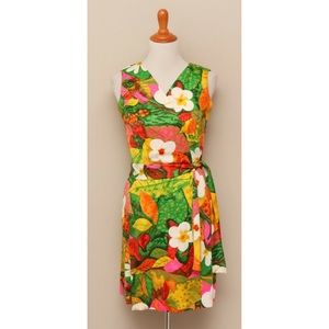 Dresses & Skirts - Vintage Hawaiian Wrap Dress M
